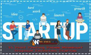 11 Point Penting Dalam Membuat Proposal Investasi Startup