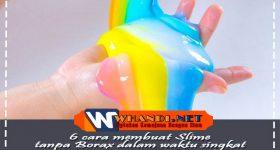 6 Cara Membuat Slime Tanpa Borax dalam Waktu Singkat