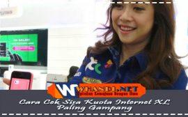 Cara Cek Sisa Kuota Internet kartu XL Paling Gampang