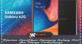 Rincian Spesifikasi Samsung Galaxy A20 dan Harga Terbarunya