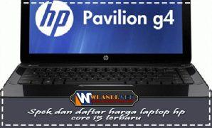 Spek dan daftar harga laptop hp core i5 terbaru
