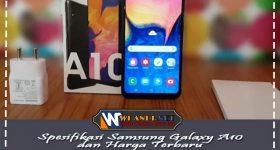 Rincian Spesifikasi Samsung Galaxy A10 dan Harga Terbaru