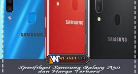 Rincian Spesifikasi Samsung Galaxy A30 dan Harga Terbaru