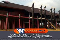 Wisata Rumah Radakng Rumah Adat Dayak Kalbar