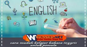cara mudah belajar bahasa inggris bagi pemula