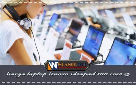 harga laptop lenovo ideapad 100 core i3