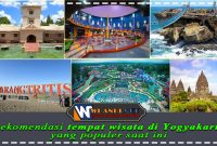 rekomendasi tempat wisata di yogyakarta yang populer saat ini