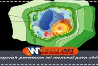 sejarah penemuan sel menurut para ahli