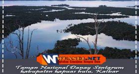 taman nasional danau sentarum kabupaten kapuas hulu, kalimantan barat